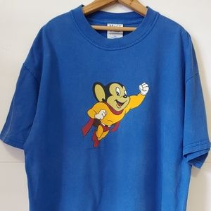 Other - Vintage 2000 Mighty Mouse T-shirt Mens L Viacom